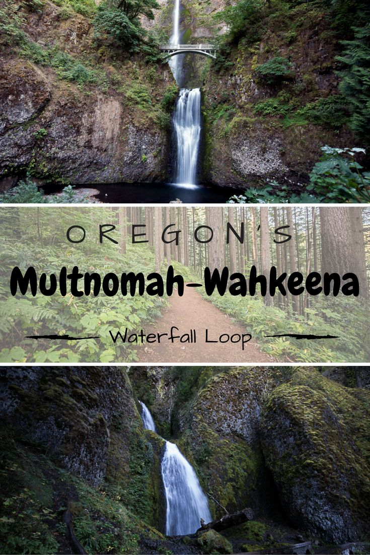 Hiking the Multnomah-Wahkeena Loop in Oregon. Pass by 8 named waterfalls and great views of the Columbia River Gorge.
