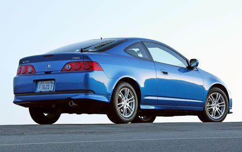 2006 Acura RSX 2dr Hatchback w/Leather