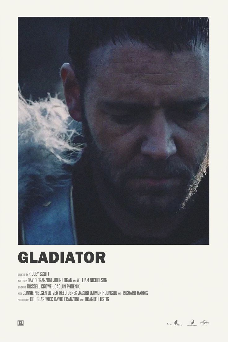 Gladiator alternative movie poster Print available HERE