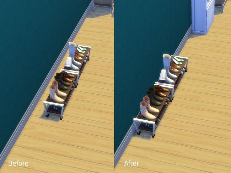 Mod The Sims - Mis à jour - Slots ajouté: Diverses modifications de placement qui font des choses vont contre les murs