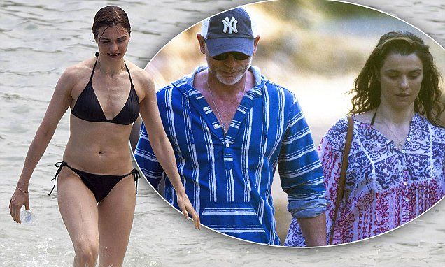 Rachel Weisz gives Bond girls a run for their money in black bikini