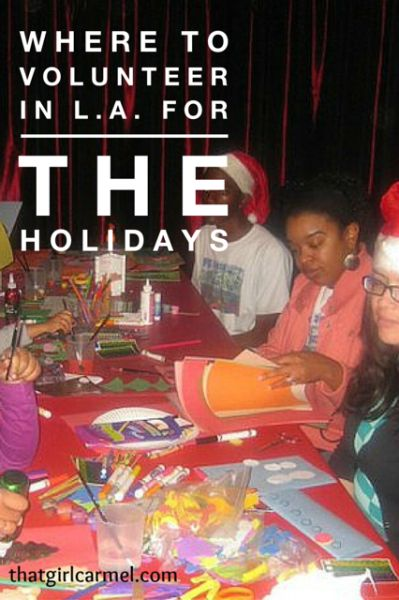 Where to volunteer in Los Angeles for the holidays