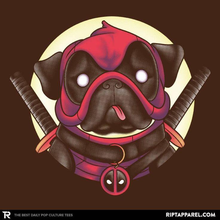 Pugpool T-Shirt - Deadpool T-Shirt is $11 today at Ript!