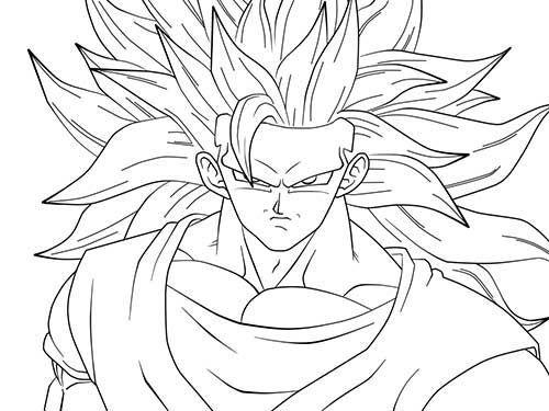 As 25 Melhores Ideias De Goku Desenho No Pinterest