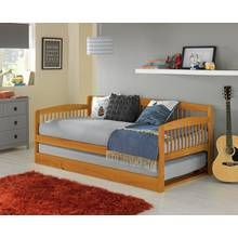 Buy HOME Wooden Day Bed with Trundle - White at Argos.co.uk, visit Argos.co.uk to shop online for Children's beds, Beds, Bedroom furniture, Home and garden