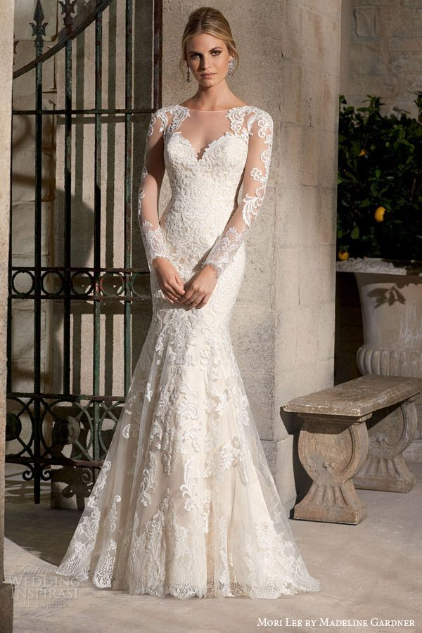 581 best Wedding dresses with sleeves images on Pinterest