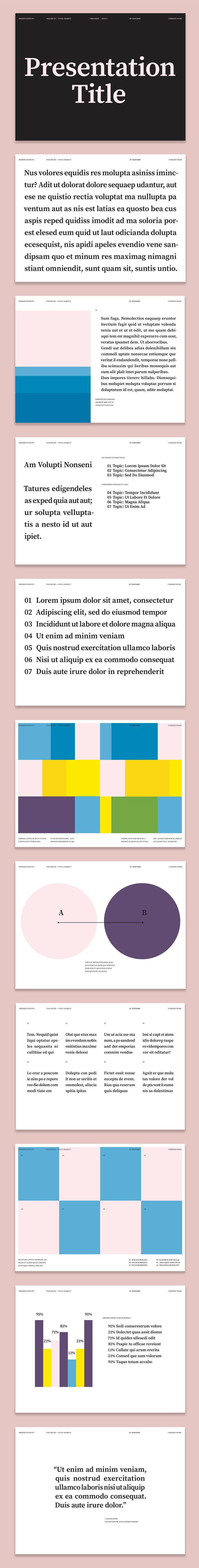 Colorful Presentation Layout - image | Adobe Stock