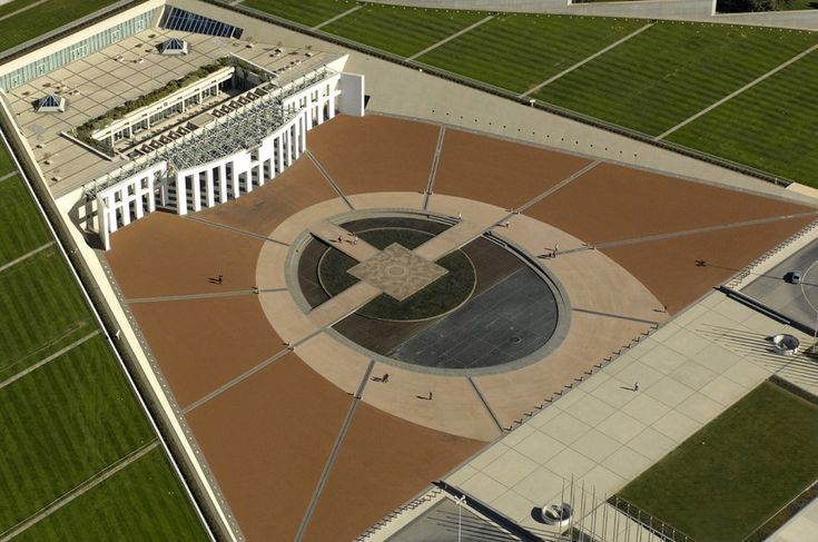 Parliament House Canberra | The Forecourt Entrance
