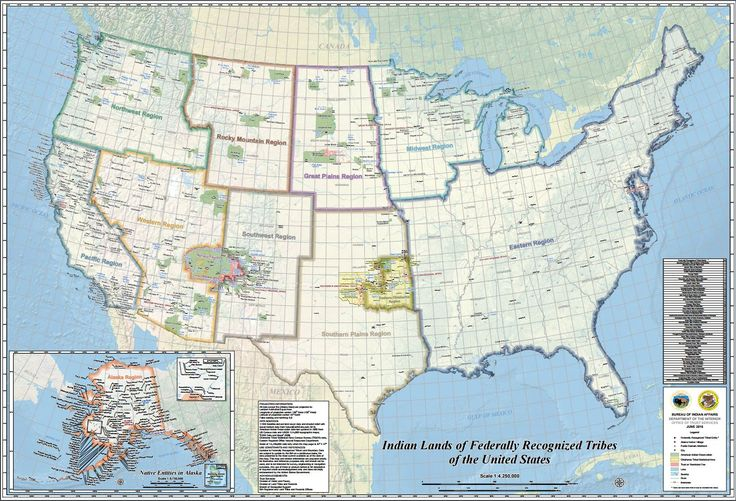 Aware of all the federally recognized tribes in the US?