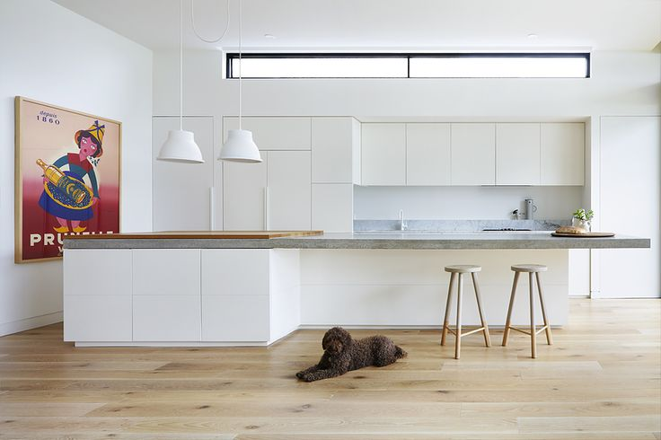 Pure simplicity from Pipkorn & Kilpatrick Interior Architecture and Design.