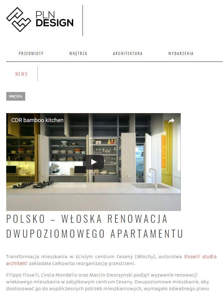 #tissellistudio single family penthouse in Cesena, published by pln design