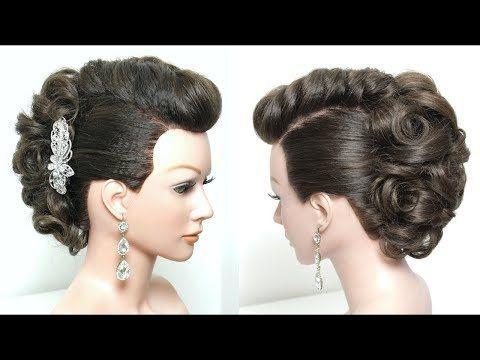 Braut Updo Tutorial. Hochzeits-Abschlussball-Frisuren für langes Haar - YouTube - #abschlussball #braut #frisuren #hochzeits #langes