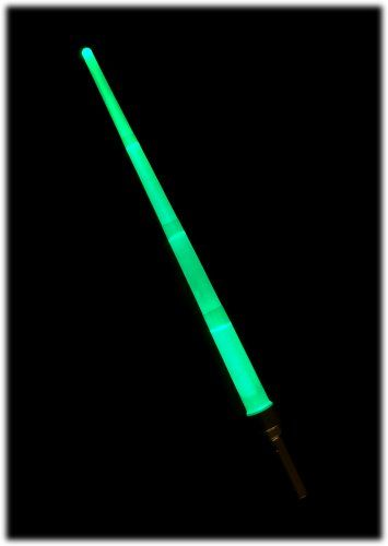 Lightsaber - Electronic Light Up Sword - Extends & Switches to 8 Different Colours - Pulsating & Steady LED Modes - Over 3 Feet In Length - Star Wars Style - Batteries Already Included