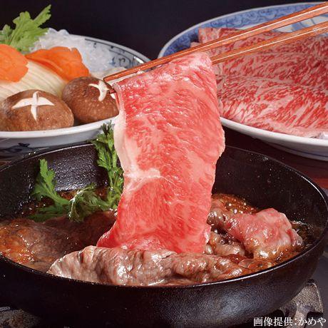三重県松阪市の知る人ぞ知る松阪牛料理の名店「かめや」。ビーフソムリエが厳選したA5ランクの松阪牛が食べられる。 #三重 #松阪牛 #A5ランク #すき焼き