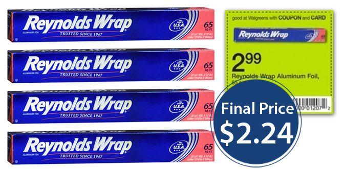 Reynolds Aluminum Foil, Only $2.24 at Walgreens!