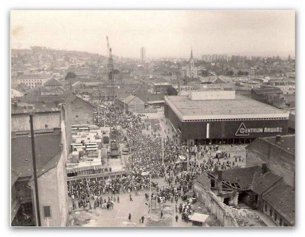 Miskolc retro: Így változott a Centrum Áruház