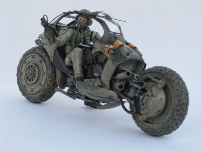 All terrain military motorcycle (future)...