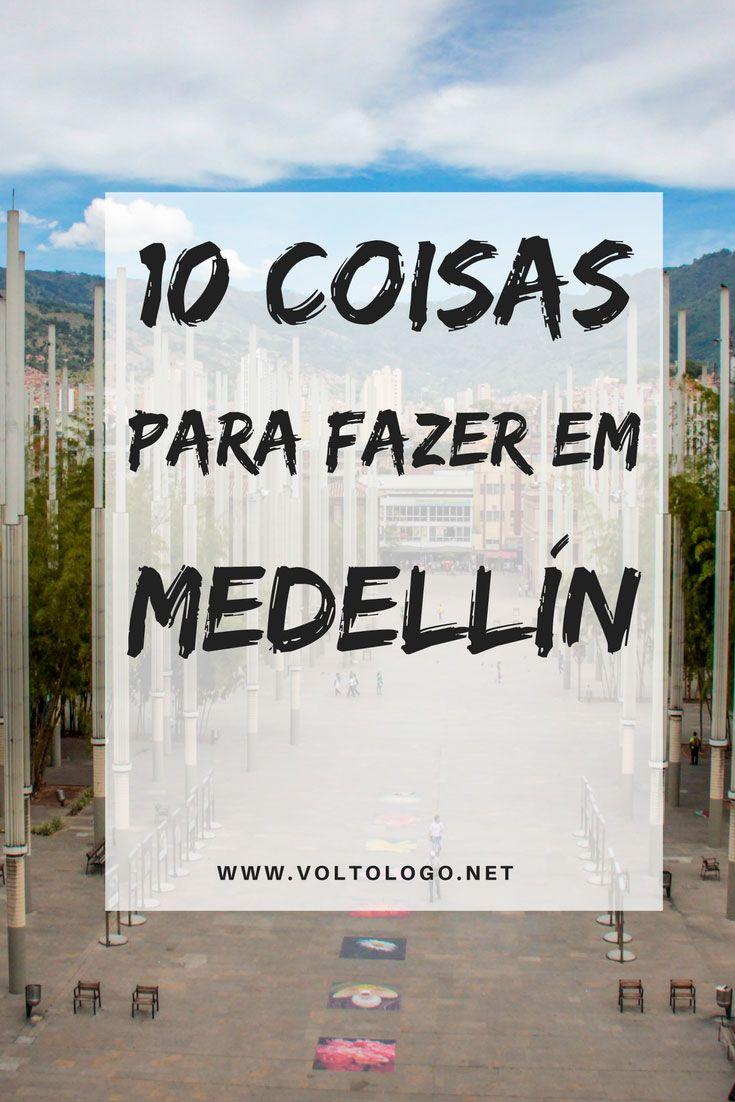 Medellín, na Colômbia: Dicas do que fazer na cidade. Principais atrações, passeios, museus e pontos turísticos.