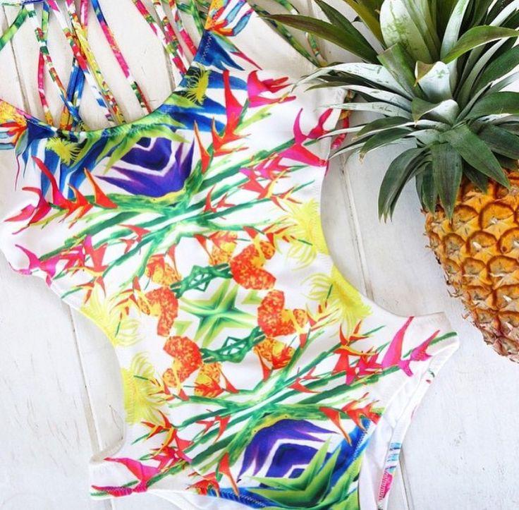 Britt Laspina Print Design for Plumeria Swim