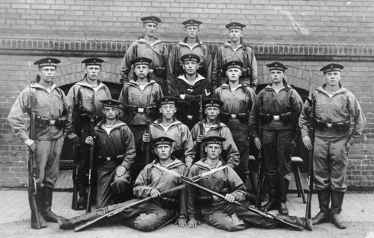 немецкие моряки
