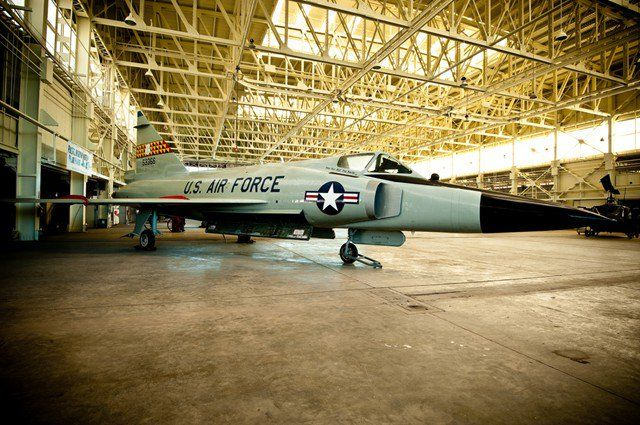 The F-102 was the world's first supersonic, all-weather jet interceptor and the U.S. Air Force's first operational delta wing aircraft.