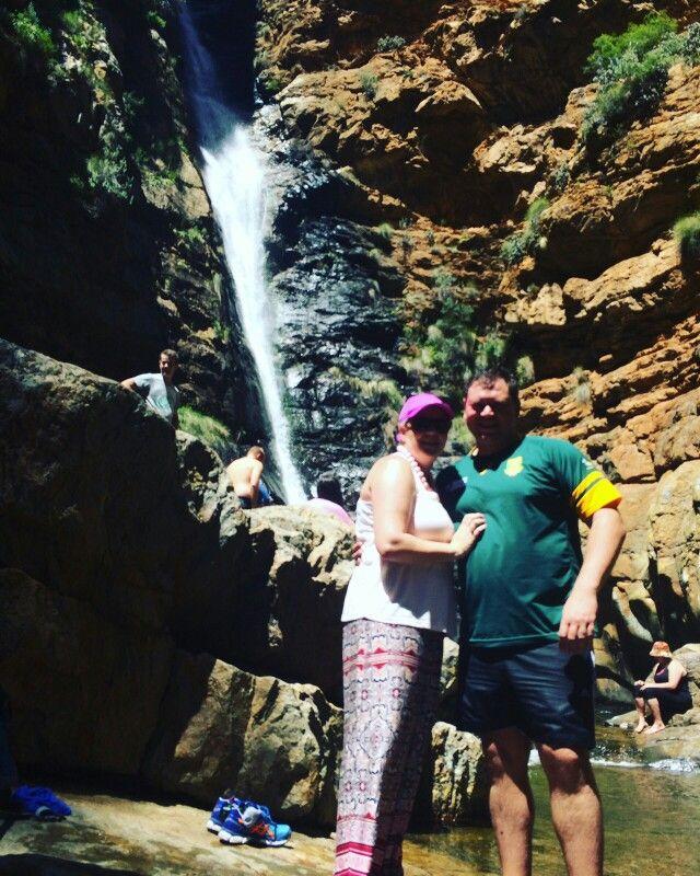 Waterfall at Meiringspoort, De Rust, Western Cape, South Africa