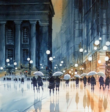 Blues and Brollies - Peter J. Rodgers