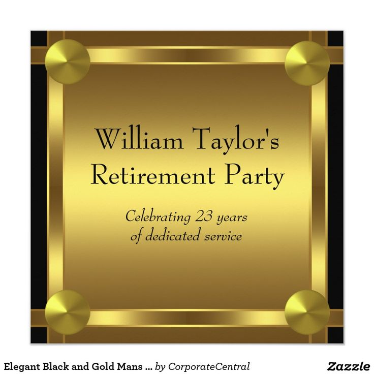 15 best Retirement Party Invitation Templates images on Pinterest ...