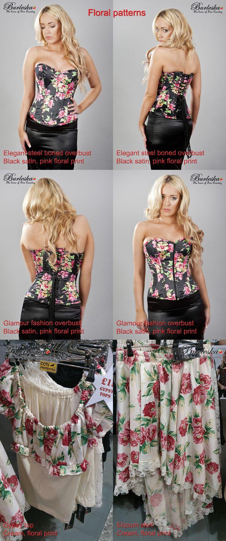 Floral fashion for summer 2014 by Burleska.co.uk