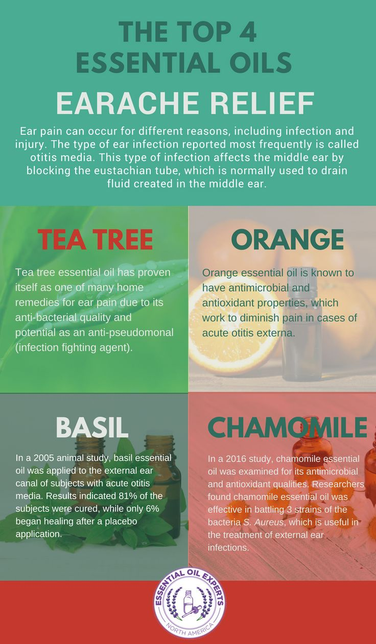 The Top 4 Essential Oils for Earache Relief