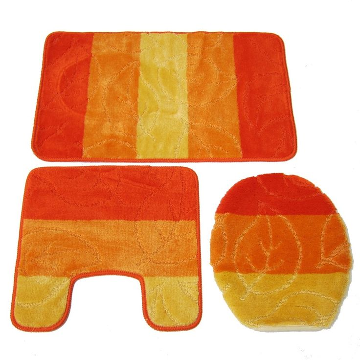 Yellow Bath Mat Sets