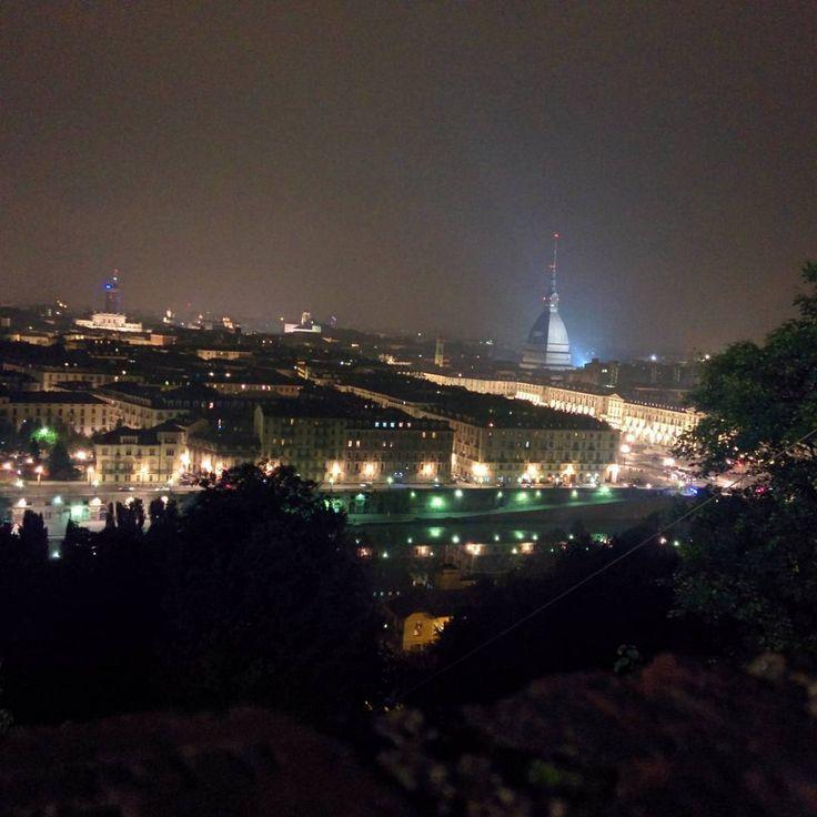 """#torino dal Monte dei Cappuccini #instatorino #instamamme #italy #torinobynight"""""""
