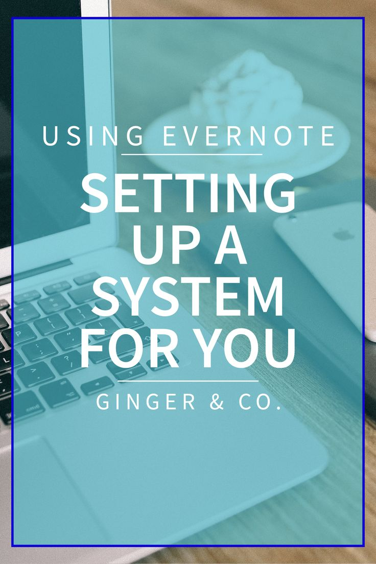 To make the most out of Evernote, you need to have a system and a plan. Take a look at all these different setups with Using Evernote: Setting up a System.