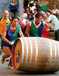 """During the last week of August in Montepulciano you can enjoy the typical Tuscan tradition of the """"Bravio delle Botti"""". This festival is a c..."""
