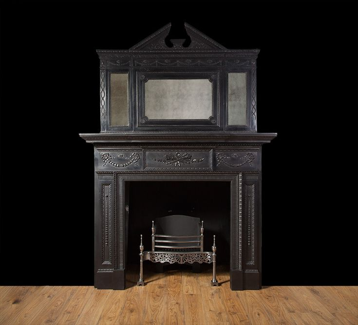 Reproduction Georgian Fireplaces Part - 49: Antique Cast Iron Fireplace - From Ryan U0026 Smith LTD Specialists In Antique  Fireplaces, Reproduction Fireplaces, Bespoke Fireplaces And Period  Fireplaces