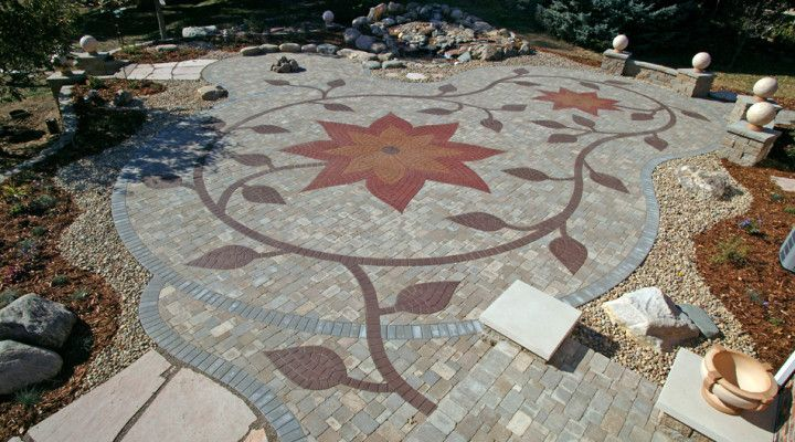 whimsical hardscape paver designs | What are Pavers? Cost, Information and Ideas