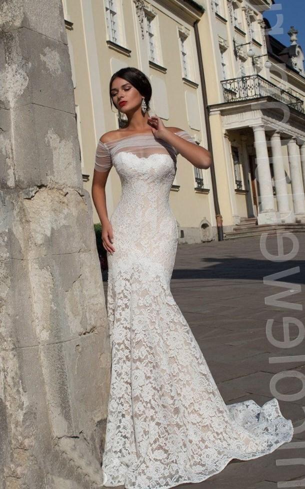 Кружевные свадебные платья 2016 - http://1svadebnoeplate.ru/kruzhevnye-svadebnye-platja-2016-3236/ #свадьба #платье #свадебноеплатье #торжество #невеста