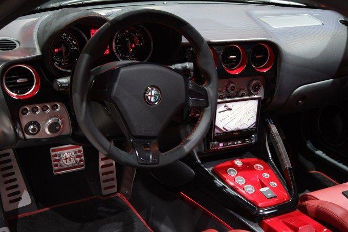 Alfa Romeo Touring Superleggera Disco Volante