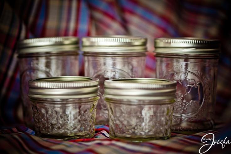 Mason jars www.alwaysjosefa.com