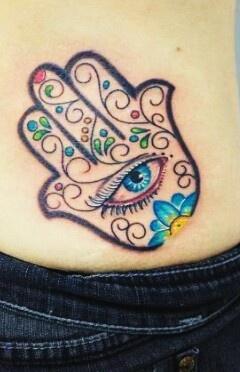 Hamsa tattoo ♡sz
