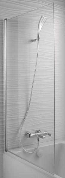 Шторка для ванны 80x140 см Jacob Delafon Struktura E6D042-GA