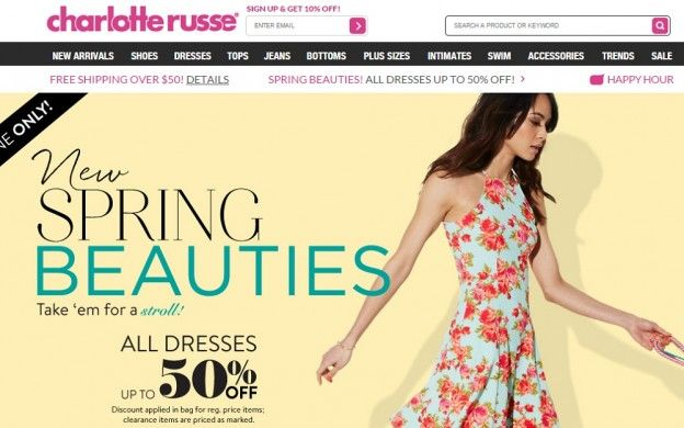 Coupons really are a life saver to many consumers and purchasers. The tiny one piece of paper or that one single code influence on the way people shop for demands and their desires and can develop a huge impact -- Charlotte Russe promo code 2015 --- http://charlotterussecoupons.com/