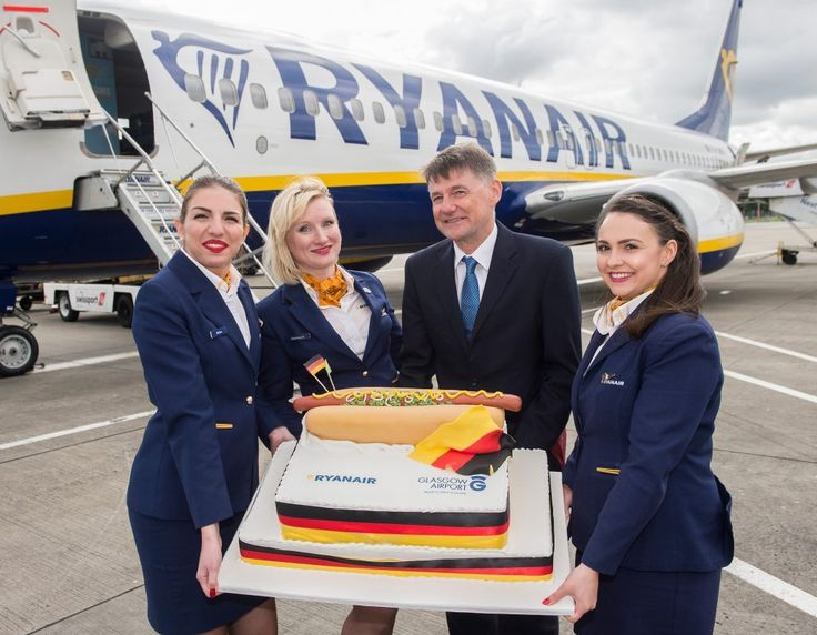DUBLIN, Ireland, 2017-Sep-08 — /Travel PR News/ —Ryanair, Europe's No. 1 airline, today (5 Sep) celebrated the first flight on its new daily Glasgow