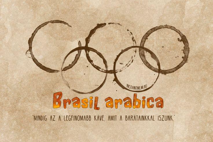 Szurkoljunk együtt! Kávézzunk együtt! #olimpia #rio2016 #brazilarabica http://energiagomba.hu/italok/