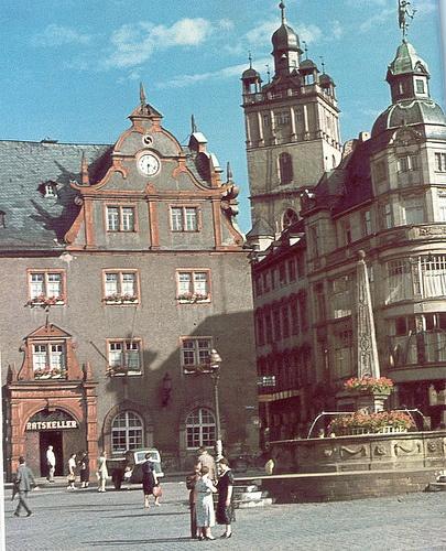 Darmstadt früher | Marktplatz