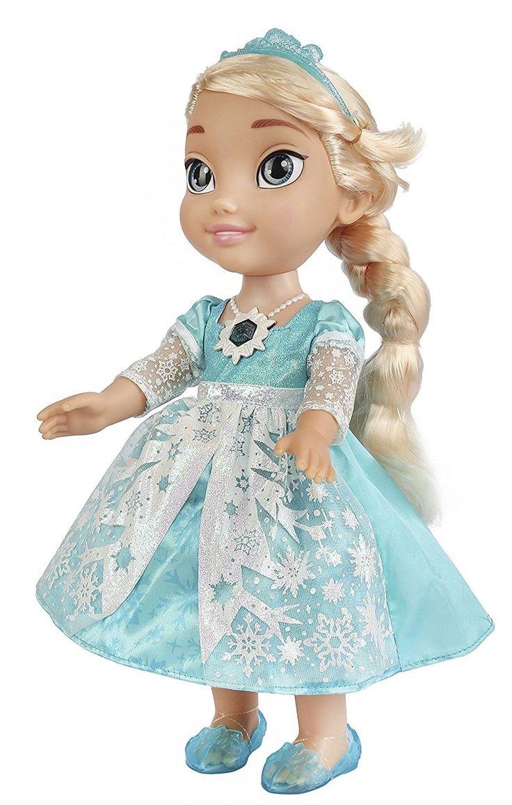 Disney Frozen -  Muñeca Elsa, brillo de nieve canta en inglés