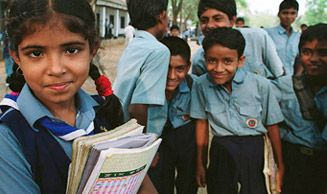 The World Bank's strategy to achieve universal primary education.