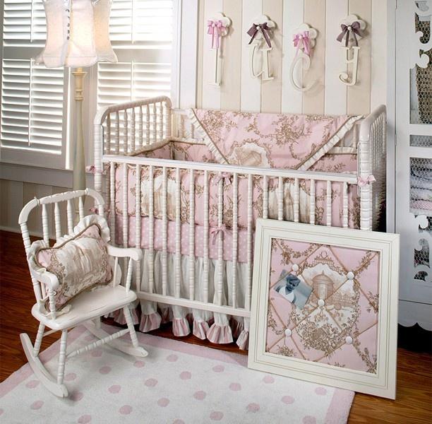 English Rose Garden Baby Bedding