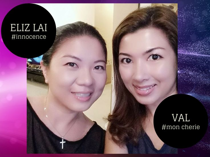 Me & bff Eliz flaunting our soft n glossy lips by LIP ADDICT.