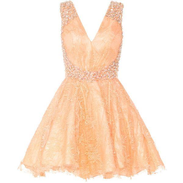 peach lace cocktail dress wwwpixsharkcom images